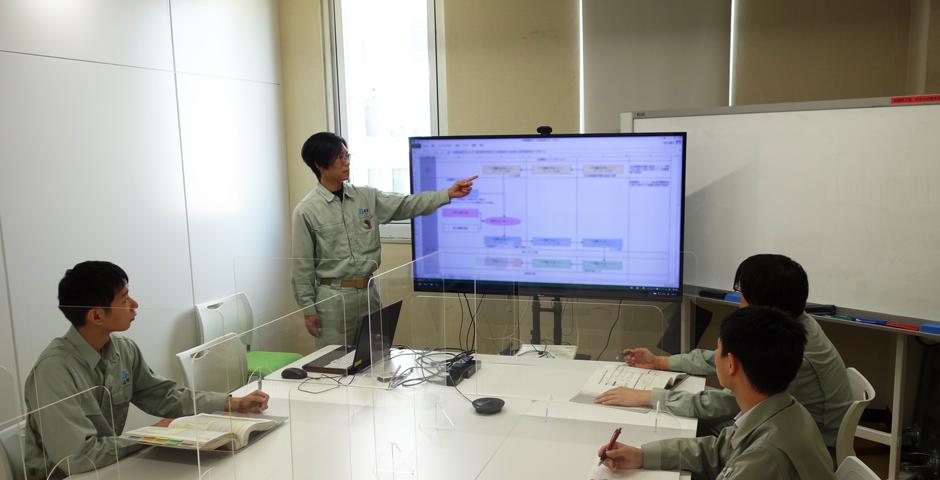 電力業務支援システムの開発