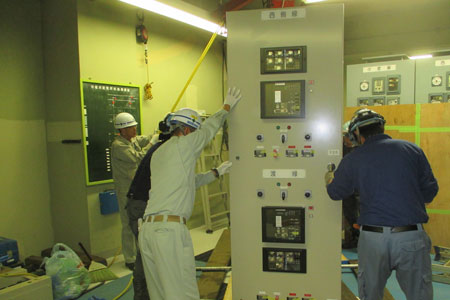 お客さま電気設備の機器更新工事02