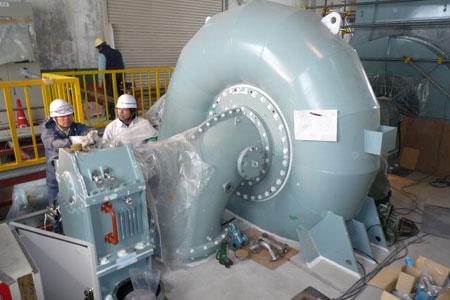 水力発電設備02